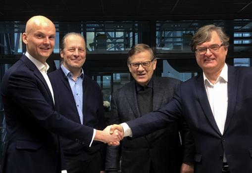 Life Sciences Digital Innovation Hub cluster starts operating in Vilnius City Innovation Industrial Park