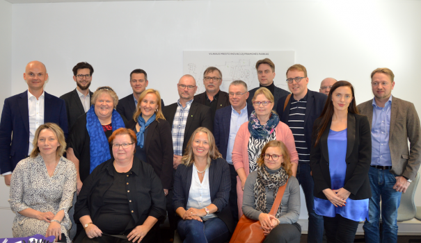 Development trends of industrial parks in Finland and Lithuania were discussed at Vilnius City Innovation Industrial Park