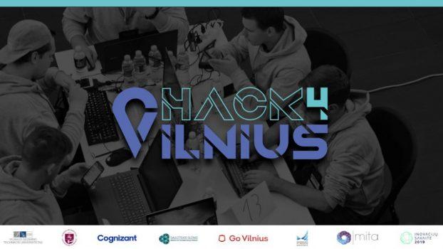 """Hakatonas """"Hack4Vilnius"""" – jau kitą savaitę!"""