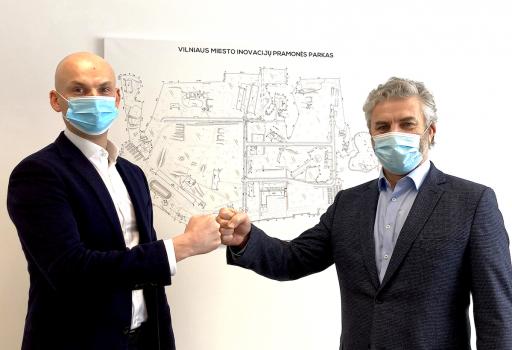 """Lietuvišką Covid-19 antikūnų testą išvysčiusi UAB """"Imunodiagnostika"""" kursis Vilniaus miesto inovacijų pramonės parke"""