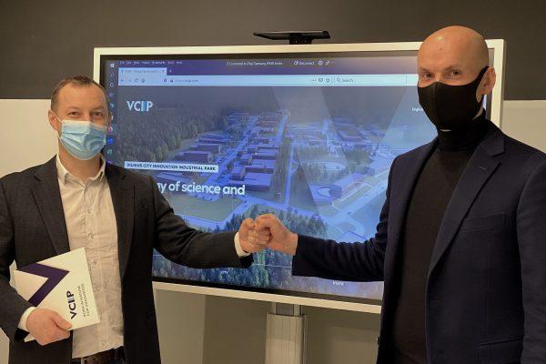 Vilniaus miesto inovacijų pramonės parke kuriasi įmonių grupė, plėtosianti statybų skaitmenizavimo įrankius