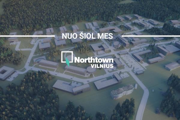 Šiaurės miestelio technologijų parkas pakeitė vardą ir nuo šiol vadinasi Northtown Vilnius
