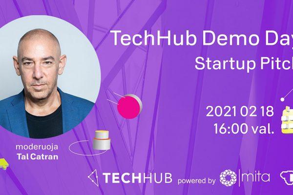 TechHub pre-akceleratoriaus pirmojo ciklo startuolių prisistatymas investuotojams