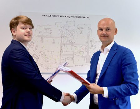 """""""Gensinta"""", a startup operating in the field of synthetic biology, starts its establishment in Vilnius City Innovation Industrial Park"""